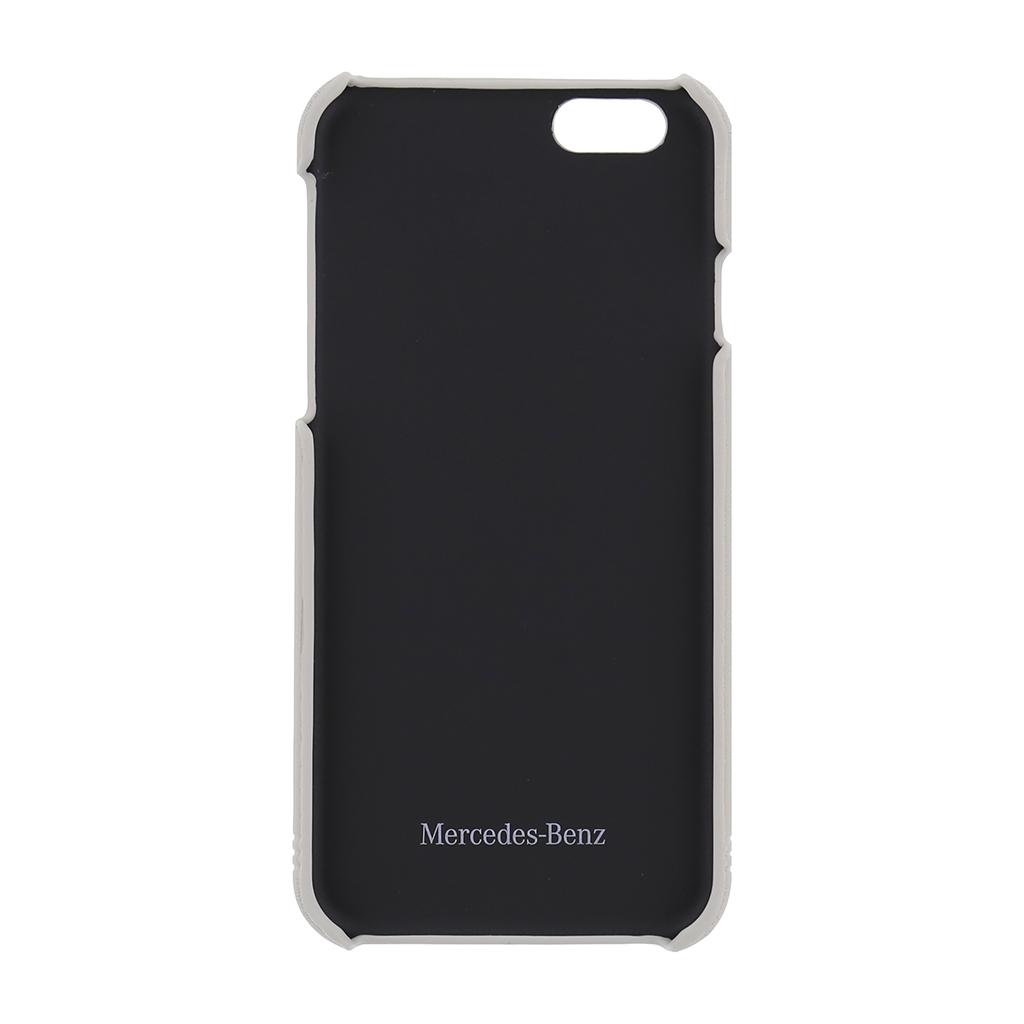 MEHCP6EMSRE Zadní kryt Mercedes Grill iPhone 6/6S červený