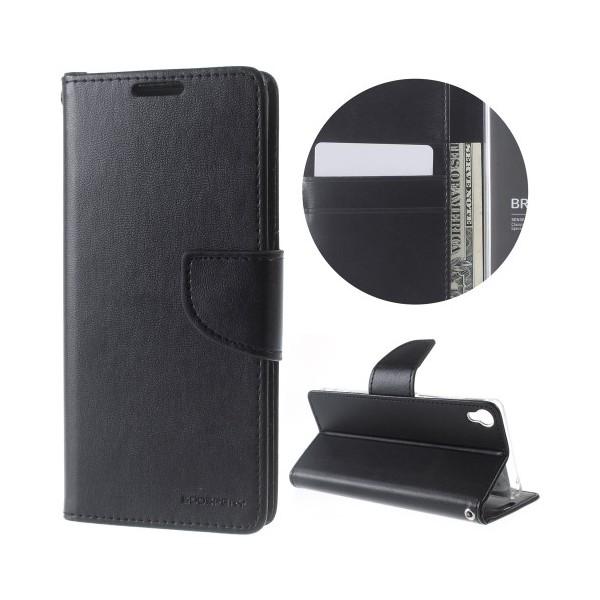 Mercury Bravo Diary pouzdro flip Samsung Galaxy J1 2016 černé