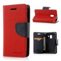 Mercury Fancy Diary flipové pouzdro LG G6 red/navy