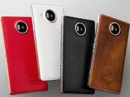 Zadní kryt na Microsoft Lumia 950 XL MOZO White Silver