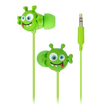 MY DOODLES Dětská sluchátka In Ear 3,5 mm jack ALIEN