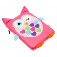"""MY DOODLES Dětský univerzální obal na tablet 10"""" OWL"""