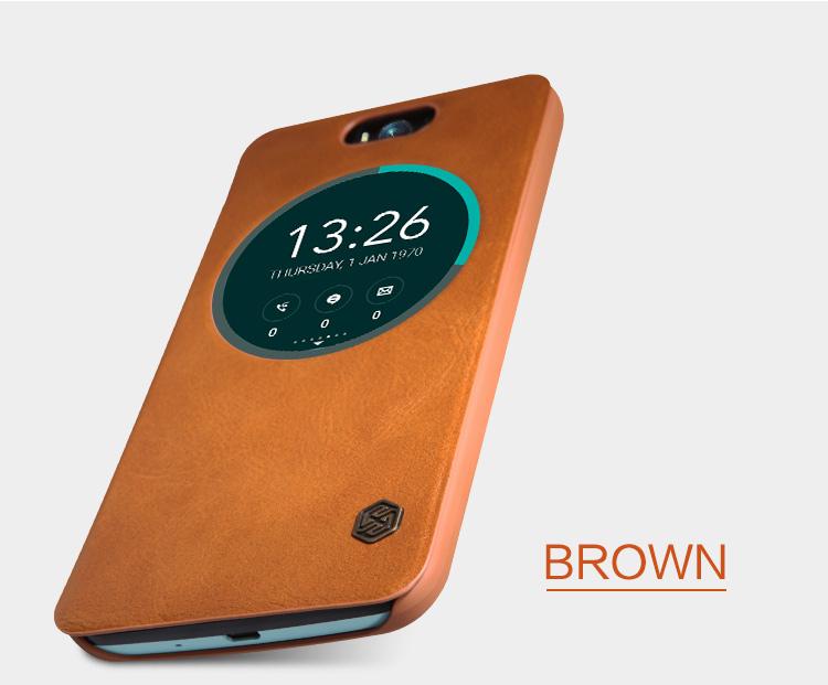 Nillkin Qin S-View flipové pouzdro HTC 10 bílé