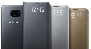 Samsung LED View EF-NG955PP pouzdro flip Samsung Galaxy S8+ růžové