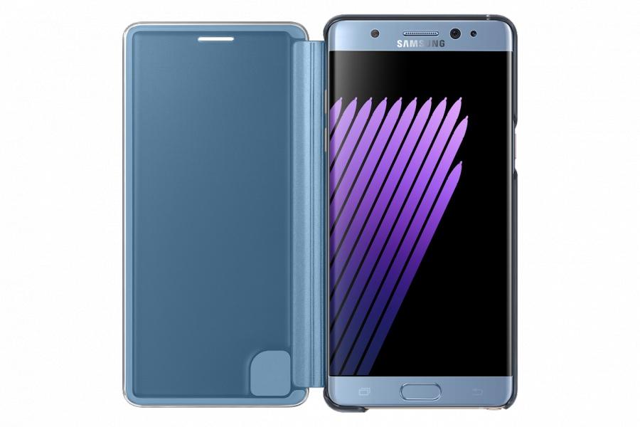 Samsung Clear View EF-ZG920BSE pouzdro flip Samsung Galaxy S6 stříbrné