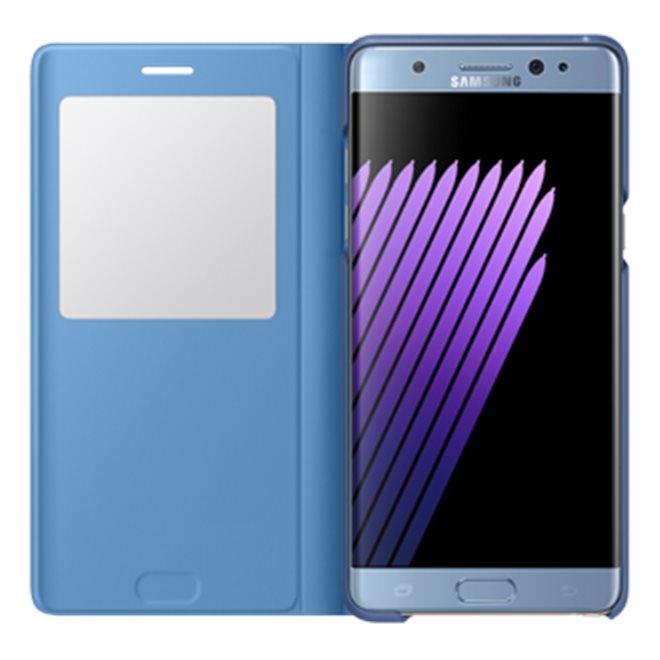Samsung S-View flipové pouzdro EF-CG935PXE Samsung Galaxy S7 Edge Wine
