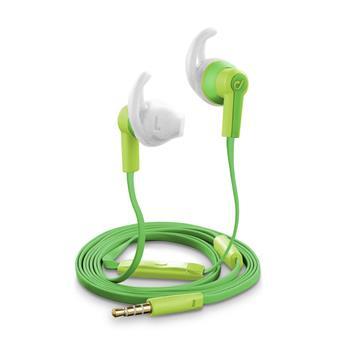 Cellularline VOYAGER Voděodolná sluchátka 3,5 mm jack zelená