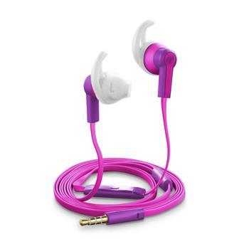 Cellularline VOYAGER Voděodolná sluchátka 3,5 mm jack růžová
