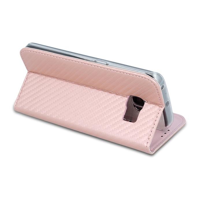 Smart Carbon flipové pouzdro Huawei Y5 II rose