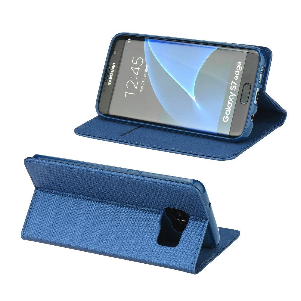 Smart Magnet flipové pouzdro Honor 8 modré