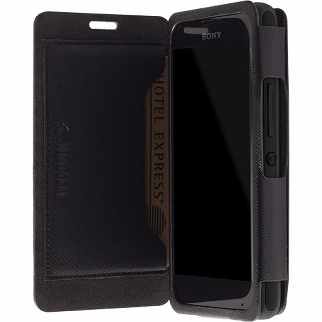 Krusell MALMÖ flipové pouzdro na Nokia Lumia 530 černé