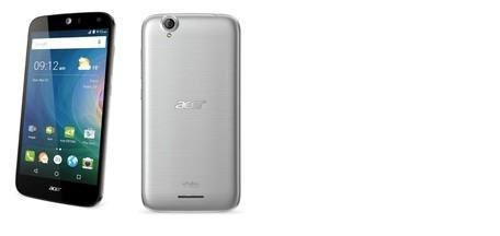 Pouzdro flip na Acer Liquid Z630 stříbrné
