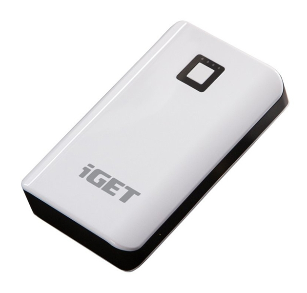 Power bank iGET B-8000 8000mAh Li-Pol