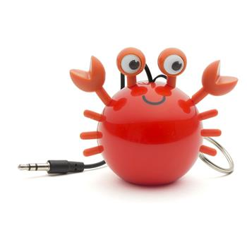 Reproduktor KITSOUND Mini Buddy Crab 3,5 mm jack oranžový