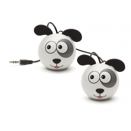 Reproduktor KITSOUND Mini Buddy Dog 3,5 mm jack
