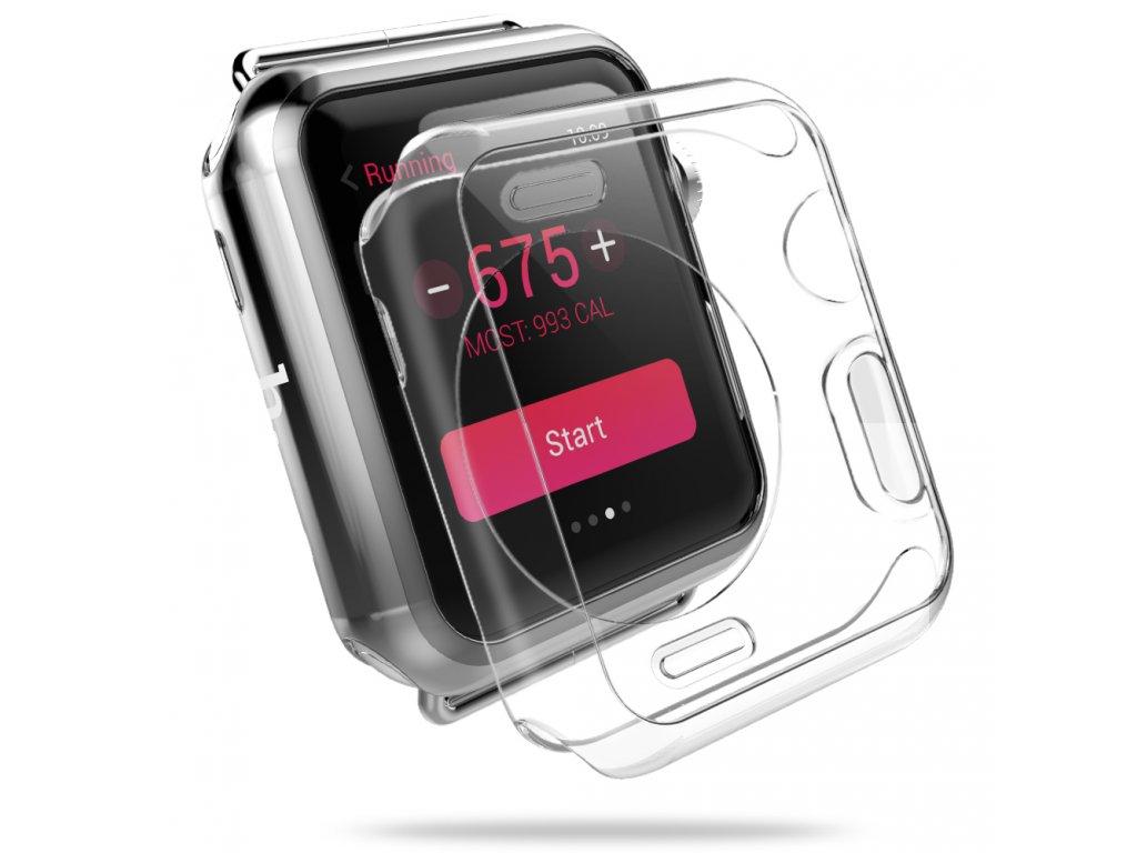 Průhledný kryt pro Apple Watch 42mm