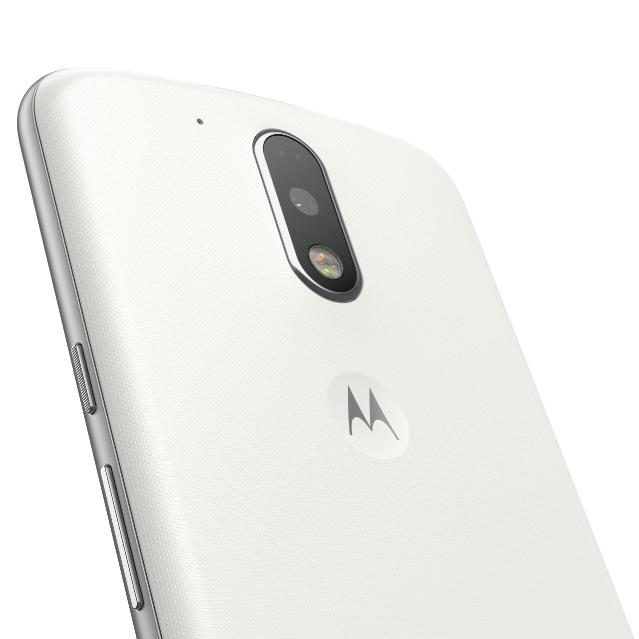 Lenovo MOTO G4 Plus Dual SIM White