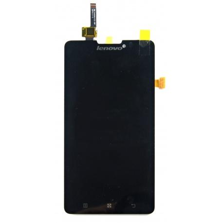 LCD displej + dotyková deska pro Lenovo P780 Black