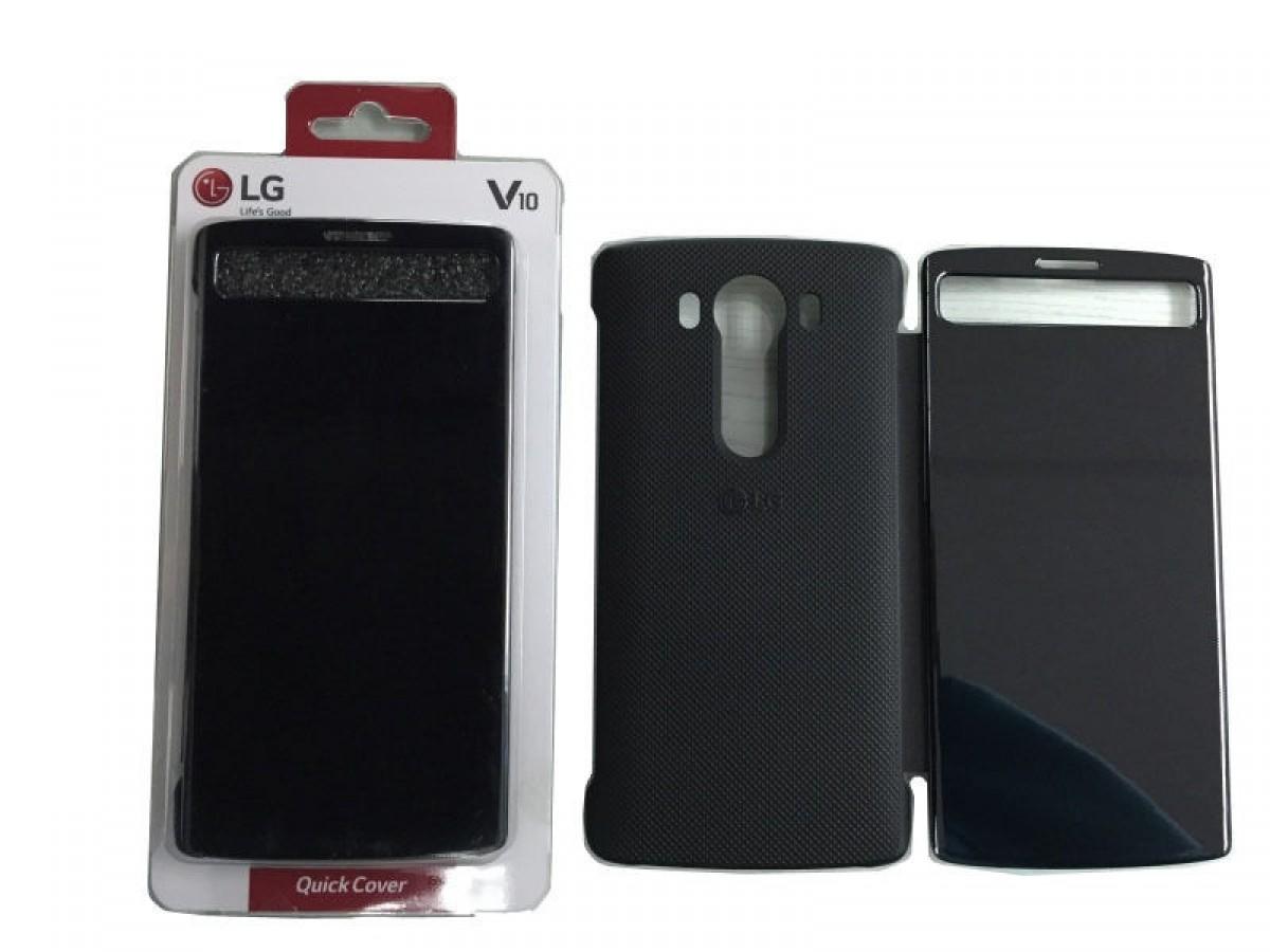 LG QuickCircle pouzdro CFV-140 pro LG V10 černé