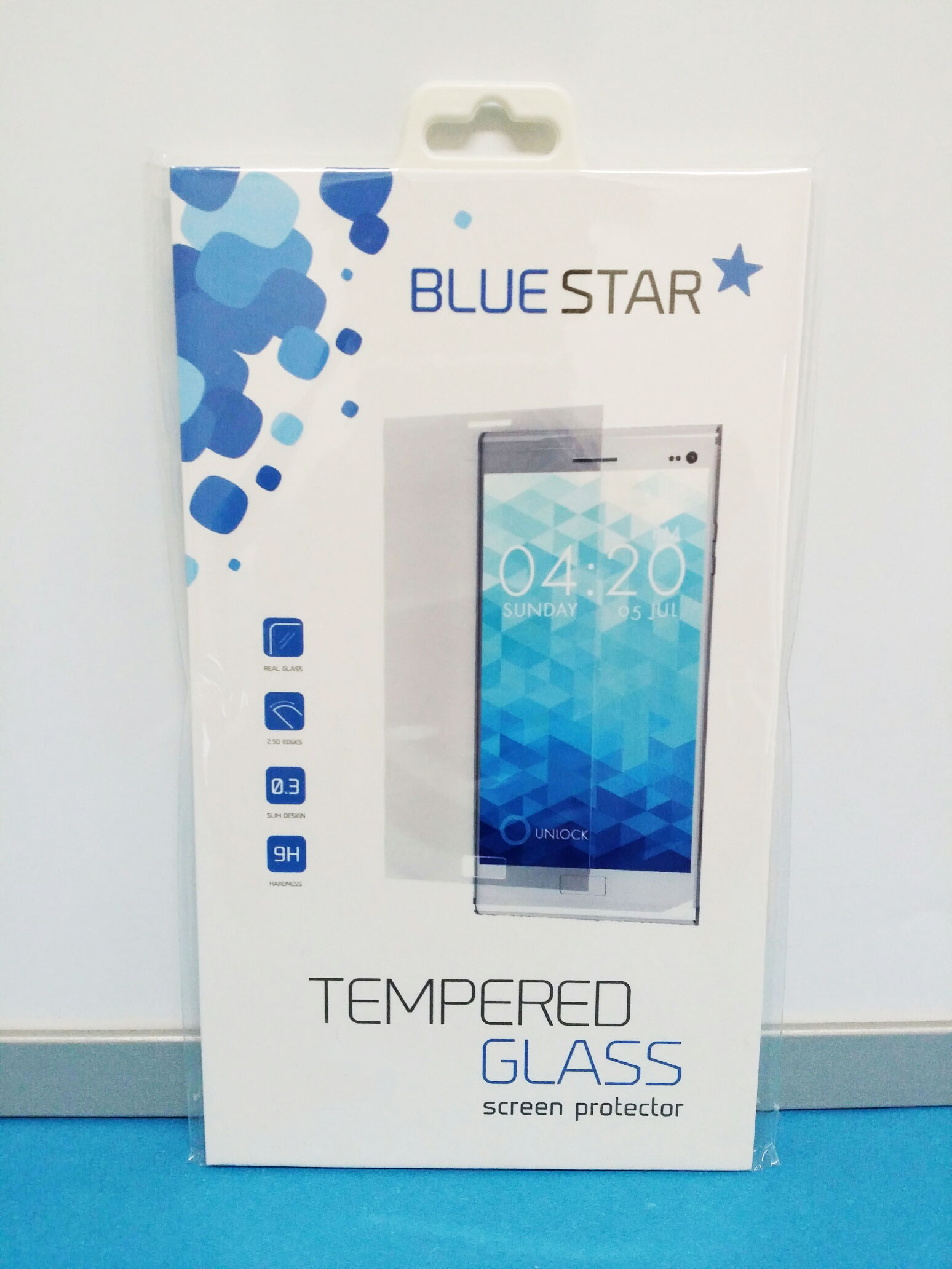 Tvrzené sklo Blue Star Premium pro Samsung Galaxy Alpha G850