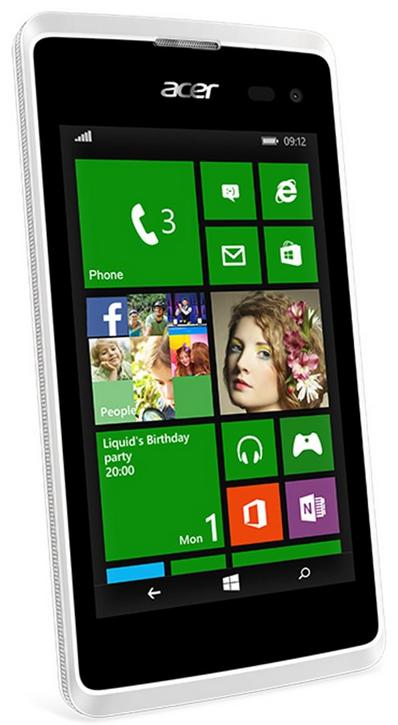 Mobilní telefon Acer Liquid M220 Dual SIM White