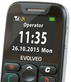 Mobilní telefon Evolveo EasyPhone Black