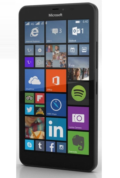 Mobilní telefon Microsoft Lumia 640 XL LTE Cyan / Blue