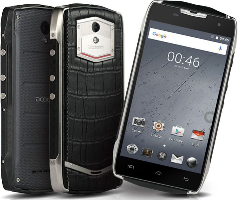 Doogee T5 Crocodile Leather