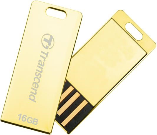 Flash disk Transcend JetFlash T3G 32GB USB 2.0 Gold