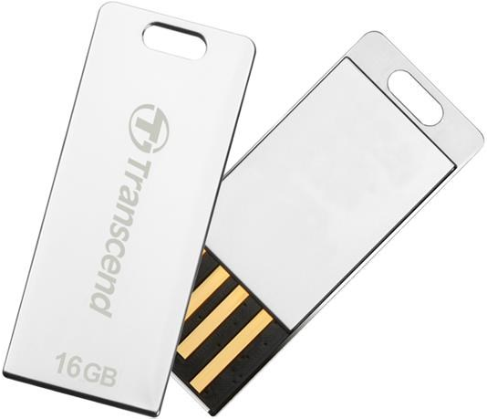 Flash disk Transcend JetFlash T3S 32GB USB 2.0 Silver