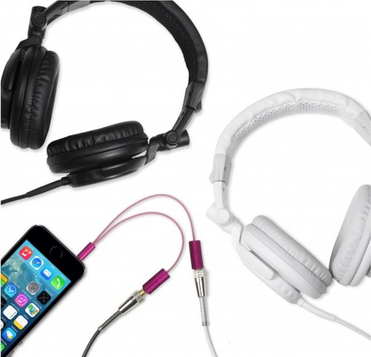 Rozdvojka na sluchátka Kitsound iSPLIT Pink