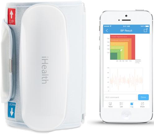 Bluetooth měřič krevního tlaku iHealth BP5
