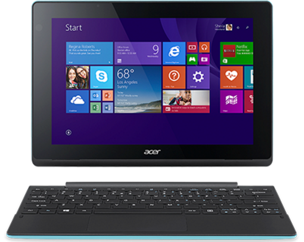 Acer Aspire Tab Switch 10E (SW3-016-18CN) Blue