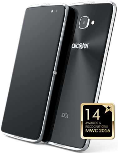 Alcatel IDOL 4S 6070K + VR BOX Dark Grey