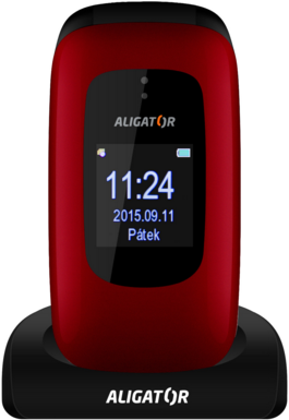 Aligator V600 Senior Red