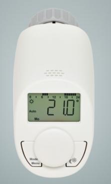 Programovatelná termostatická hlavice na topení eQ-3 N (3 kusy)