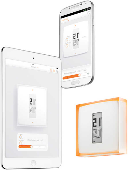 Chytrý Wi-Fi termostat Netatmo Thermostat