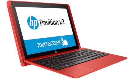 HP Pavilion X2 10-n202nc Red