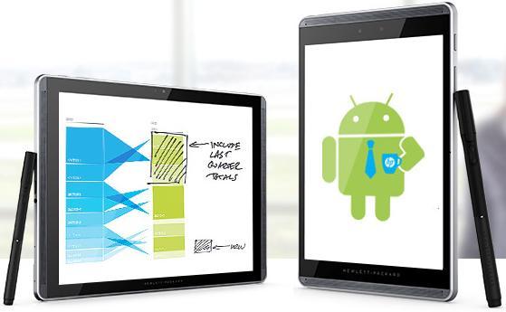 """Tablet HP Pro Slate 8 K7X62AA 7.8"""" 32GB Wi-Fi + stylus"""