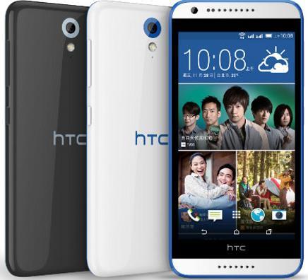 Mobilní telefon HTC Desire 620 White / Blue