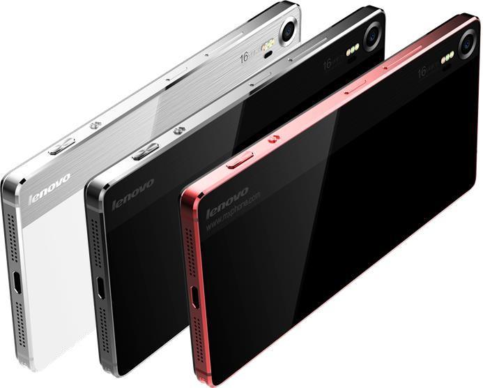Mobilní telefon Lenovo Vibe Shot White