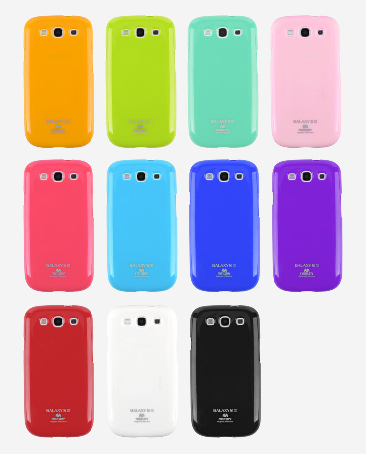 Pouzdro MERCURY JELLY CASE Samsung Galaxy Grand Prime transparentní