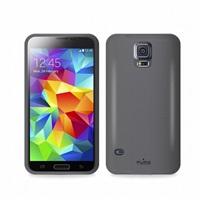Puro silikonový kryt pro Samsung Galaxy S5 mini, černá