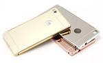 Hliníkový rámeček + plastová záda pro Samsung Galaxy A3, zlatá