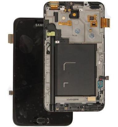 LCD displej + dotyková deska pro Samsung N7000 Galaxy Note Blue