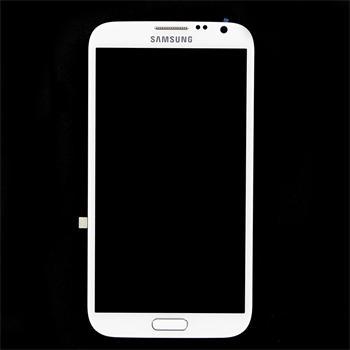 LCD Displej + Dotyková Deska White pro Samsung N7100 Note2 - originál