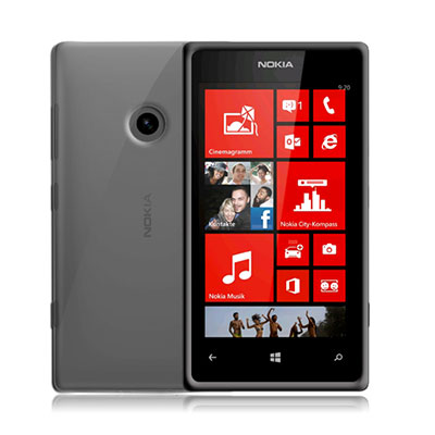 Ochranné silikonové pouzdro CELLY Gelskin pro Nokia Lumia 520 čiré