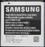 Originální Li-Ion baterie Samsung EB535151VU 1500mAh (EU Blister)