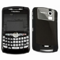Housing BlackBerry 8350i Black Kompletní Kryt a klávesnice