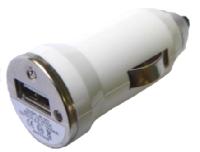 iPhone USB Autodobíječ White OEM (Bulk)